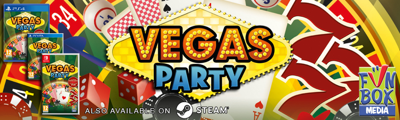 Vegas Party COMING SOON to PS4, PS Vita and Nintendo Switch