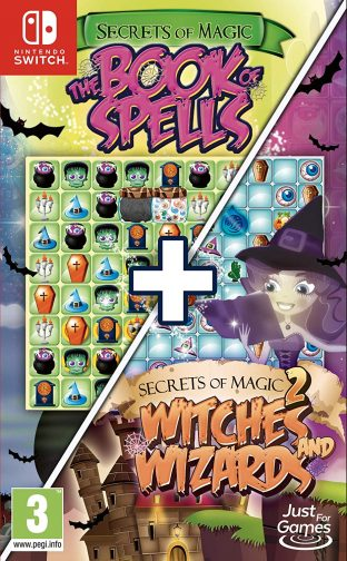 Secrets of Magic 1 & 2 – The Book of Spells + Witches and Wizards
